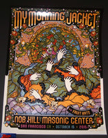 Guy Burwell My Morning Jacket Poster San Francisco 2015 Artist Edition