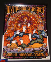 Guy Burwell My Morning Jacket Poster San Francisco 2015 Artist Edition Night 2