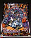 Guy Burwell My Morning Jacket Poster San Francisco 2015 Artist Edition Night 3