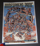 Guy Burwell Widespread Panic Poster Red Rocks Silver Variant 2018 Artist Edition