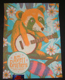Half and Half Avett Brothers Poster Columbia 2018 Artist Edition Night 1