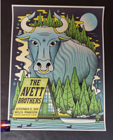 Half and Half Avett Brothers Welch Poster Artist Edition 2019