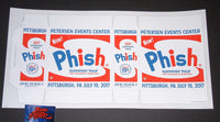 Half & Half Phish Poster Pittsburgh 2017 Artist Edition