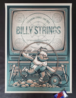 Half Hazard Press Billy Strings Nashville Poster Night 8 Artist Edition 2020