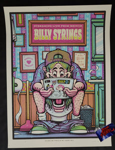 Half Hazard Press Billy Strings Nashville Poster Night 7 Artist Edition 2020