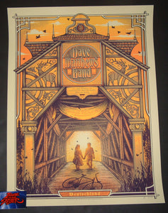 Half Hazard Press Dave Matthews Band Germany Tour Poster Artist Edition 2019