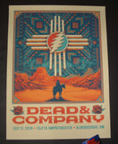 Half Hazard Press Dead & Company Poster Albuquerque Artist Edition 2018