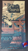 Half Hazard Press Paul Kreizenbeck Eric Church Grand Rapids Poster Artist Edition Night Two 2019