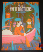 Half and Half Avett Brothers Poster Milwaukee 2018 Artist Edition Night 2