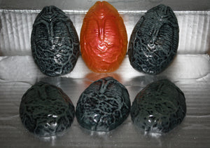 Hand Made Alien Xenomorph Egg Glow in the Dark Resin Toy Figures