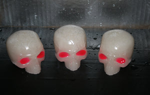 Icy Skullz Alien Eyes Hand Made Resin Figures