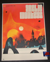 Ivan Minsloff Arctic Monkeys London Poster Artist Edition 2018 Night 2
