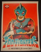 Ivan Minsloff Foo Fighters Poster Phoenix 2015 Artist Edition
