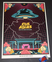 Ivan Minsloff Ryan Adams Salt Lake City Poster Artist Edition 2018
