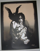 James O'Barr The Crow Art Print 2012 S/N