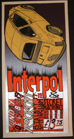 Jay Ryan Interpol Nottingham England Poster S/N 2004