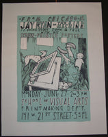 Jay Ryan Show and Tell New York City Poster 2005