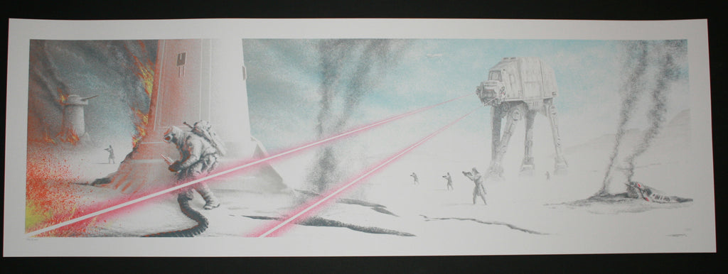 JC Richard Last Rebel Star Wars Empire Strikes Back Art Print 2014