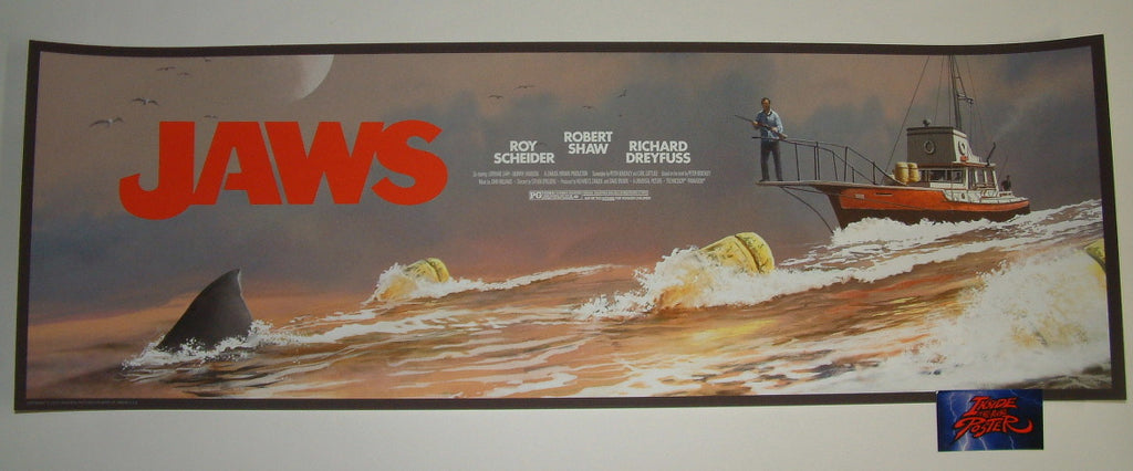 JC Richard Jaws The Chase Amity '74 Movie Poster 2019