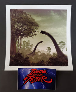 JC Richard Jurassic Park Movie Art Print Handbill Mondo AP 2020