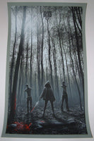 JC Richard Walking Dead The Rescue Michonne Poster 2013