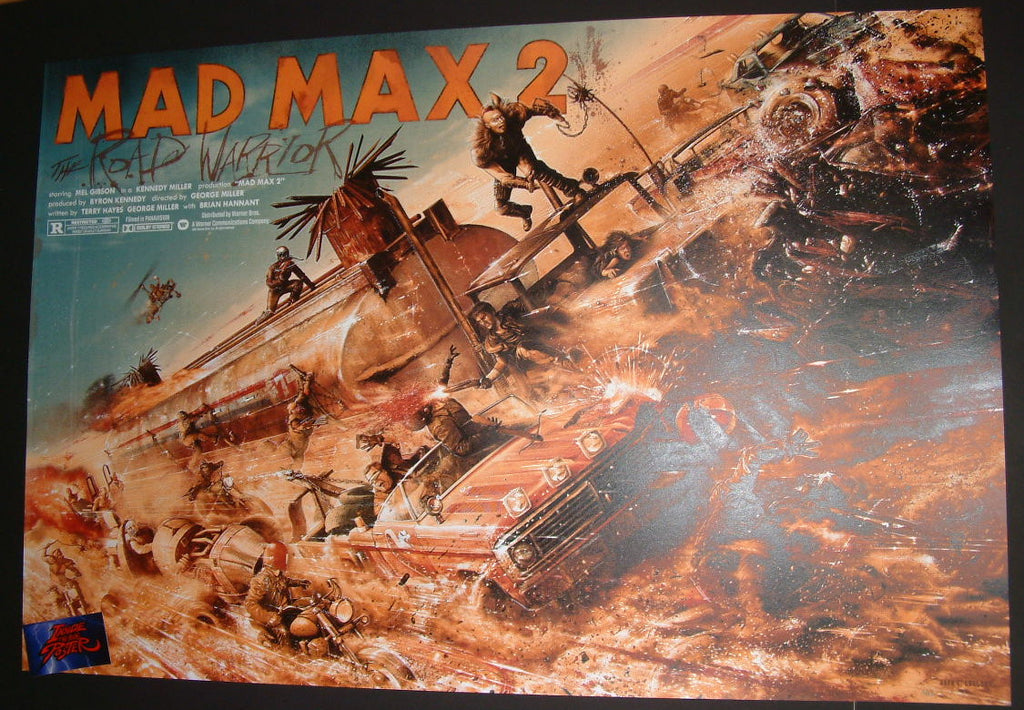 Jack Gregory Road Warrior Mad Max 2 Movie Poster 2016