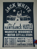 Jack White Hamtramck Hustle Poster Baseball Game 2019