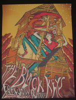 James Flames Black Keys Poster Forecastle Music Festival Louisville 2013 Artist Edition S/N