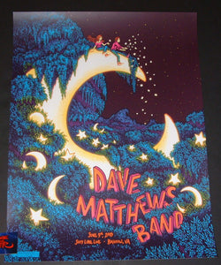 James Flames Dave Matthews Band Poster Bristow Artist Edition 2018