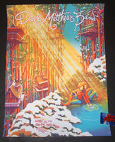 James Flames Dave Matthews Band Poster Charlottesville Artist Edition 2018