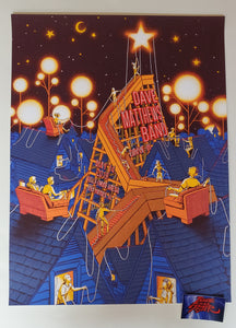 James Flames Dave Matthews Band Des Moines Poster Drive In Artist Edition 2020