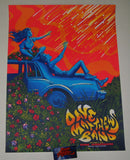James Flames Dave Matthews Band Poster George Gorge Artist Edition 2018
