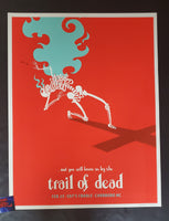 James Flames Trail of Dead Carrboro Poster Artist Edition 2009