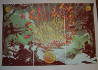 James Flames Umphrey's McGee Denver Posters Triptych Set 2013