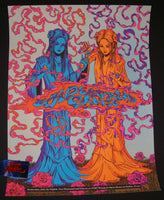 James Flames Widespread Panic Poster Dallas 2015 Artist Edition