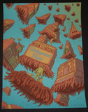 James Flames Widespread Panic Poster Washington DC 2015 Artist Edition
