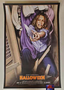 Jason Edmiston Halloween Movie Poster Artist Edition Mondo 2018