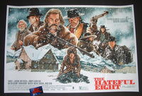 Jason Edmiston The Hateful Eight Movie Poster 2016 Mondo