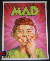 Jason Edmiston MAD Magazine Poster 2018 Mondo