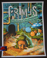Jason Edmiston Primus New Orleans Poster 2015 Artist Edition