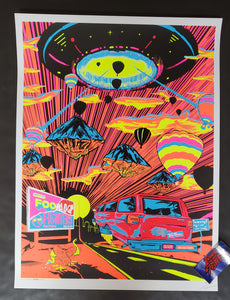 Jason Malmberg Foo Fighters Albuquerque Poster Artist Edition 2020