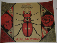 Jason Smith Afghan Whigs Poster Detroit 2012 Artist Edition S/N