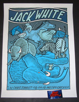 Jay Ryan Jack White Chicago Poster Metro 2018 Artist Edition