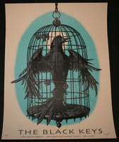 Jeff Soto Black Keys London Ontario Poster Blue Variant 2011 Signed