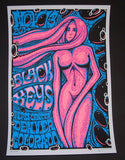 Jeff Wood Black Keys Poster Denver 2014 Artist Edition