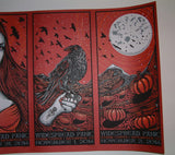Jeff Wood Widespread Panic Poster Broomfield Halloween 2014 Uncut Artist Edition