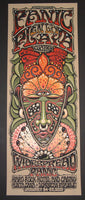 Jeff Wood Widespread Panic Quatro Punta Cana Poster 2015 Artist Edition