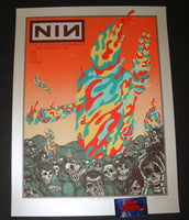 Jermaine Rogers Nine Inch Nails Poster Morrison 2018 Artist Edition