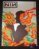Jermaine Rogers Nine Inch Nails San Francisco Poster Artist Edition Night One 2018