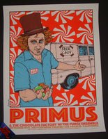 Jermaine Rogers Primus Los Angeles Poster 2015 Artist Edition